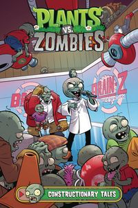 [Plants Vs Zombies: Constructionary Tales (Hardcover) (Product Image)]