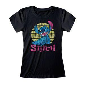 [Lilo & Stitch: T-Shirt: Vintage Stitch (Skinny Fit) (Product Image)]