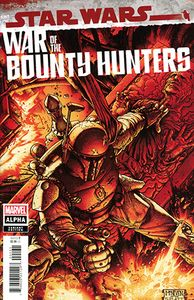 [Star Wars: War Of The Bounty Hunters Alpha #1 (Mcniven Crimson Variant) (Product Image)]