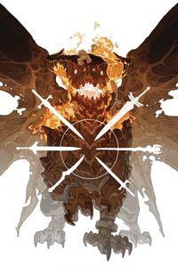 [The cover for Dragon Age: Dark Fortress #2]