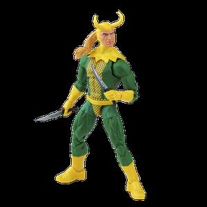 [Marvel Legends Vintage Collection Action Figure: Loki (Product Image)]