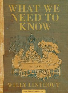 [What We Need To Know (Hardcover) (Product Image)]