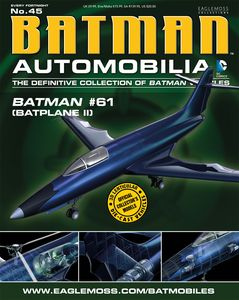[DC: Batman Automobilia Collection Magazine #45 Batplane (Product Image)]
