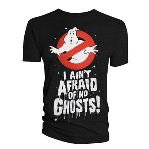 [Ghostbusters: T-Shirt: I Ain't Afraid Of No Ghosts! (Glow In The Dark) (Product Image)]