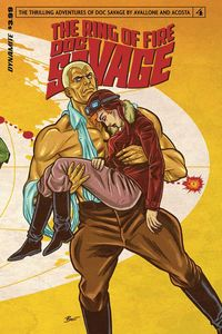 [Doc Savage: Ring Of Fire #4 (Cover A Schoonover) (Product Image)]