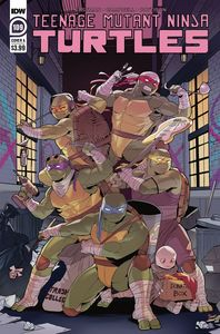 [Teenage Mutant Ninja Turtles: Ongoing #109 (Cover A Nishijima) (Product Image)]