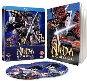 [Ninja Scroll: Steelbook Edition (Blu-Ray/DVD) (Product Image)]