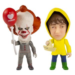 [IT (2017): TITANS: Pennywise & Georgie 2-Pack (Product Image)]
