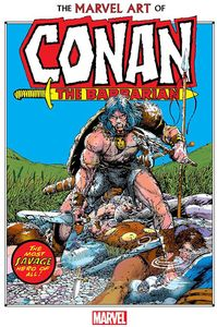[The Marvel Art Of Conan The Barbarian (Hardcover) (Product Image)]