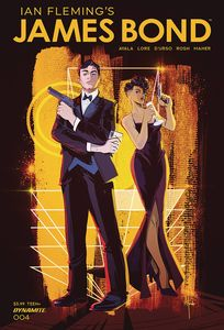 [James Bond #4 (Cover A Richardson) (Product Image)]