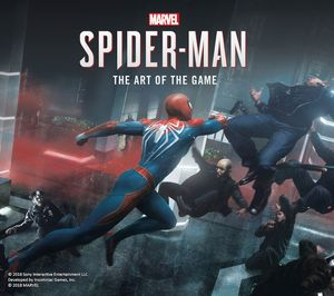 [Marvel's Spider-Man: The Art Of The Game (Hardcover) (Product Image)]