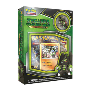 [Pokemon: Trading Card Game: Zygarde Complete Forme Pin Collection (Product Image)]