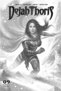 [Dejah Thoris: 2019 #9 (Parrillo Black & White Variant) (Product Image)]