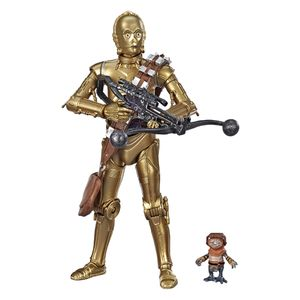 [Star Wars: The Rise Of Skywalker: Black Series Action Figure: C-3PO & Babu Frik (Product Image)]