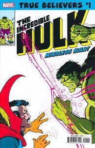 [True Believers: Hulk: Mindless Hulk #1 (Product Image)]
