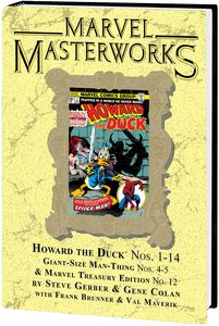[Marvel Masterworks: Howard The Duck: Volume 1 (Dm Variant Edition 300 Hardcover) (Product Image)]
