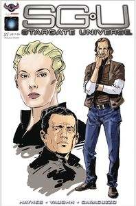 [Stargate Universe: Back To Destiny #1 (Char Dsn Caracuzzo Cover) (Product Image)]