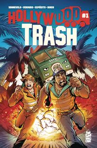 [The cover for Hollywood Trash #1]