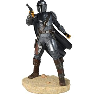 [Star Wars: The Mandalorian: Premier Collection Statue: Mandalorian MK3 (Product Image)]