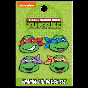 [Teenage Mutant Ninja Turtles: Enamel Pin Badge: Turtles Group Set (Product Image)]