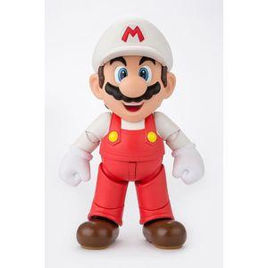 [Super Mario: SH Figuarts: Fire Mario (Product Image)]
