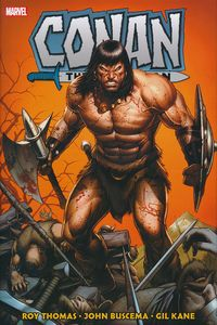 [Conan The Barbarian: Original Marvel Years: Omnibus: Volume 2 (Dale Keown Variant Hardcover) (Product Image)]