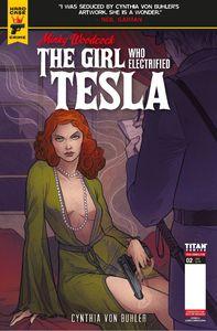 [Minky Woodcock: The Girl Who Electrified Tesla #2 (Cover A Simeckova) (Product Image)]