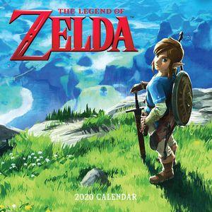 [The Legend Of Zelda: 2020 Wall Calendar (Product Image)]