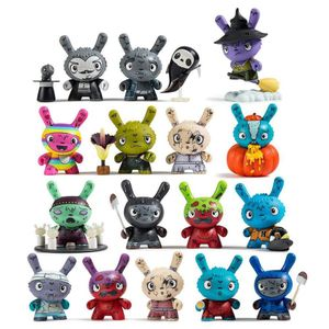 [Kidrobot: Dunny: Scared Silly Series By Jenn & Tony Bot (Product Image)]