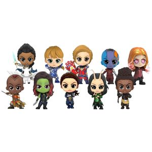 [Avengers: Endgame: Cosbaby Figures: Avengers Women (Set Of 10) (Product Image)]