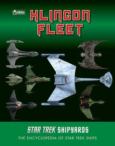 [Star Trek: Shipyards: The Klingon Fleet (Hardcover) (Product Image)]