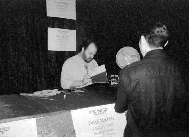 Dave McKean and Phil Hale Signing