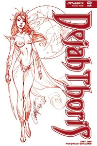 [Dejah Thoris #1 (Limited Edition Red Campbell Cover) (Product Image)]