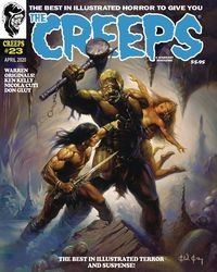 [The cover for Creeps #23]