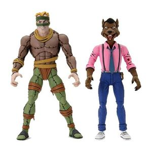 [Teenage Mutant Ninja Turtles: Action Figure 2-Pack: Cartoon King Rat & Vernon Fenwick (Product Image)]