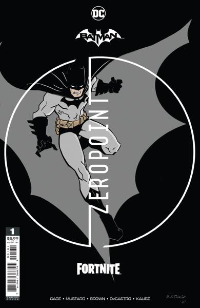 [The cover for Batman/Fortnite: Zero Point #1 (Premium Variant A)]