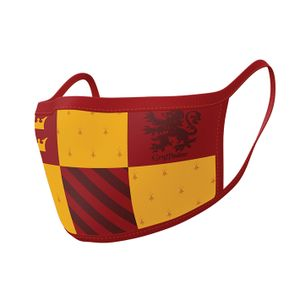 [Harry Potter: Face Mask 2-Pack: Gryffindor (Product Image)]