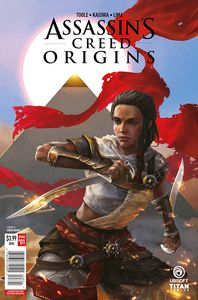 [Assassins Creed: Origins #1 (Cover D Sunsetagain) (Product Image)]