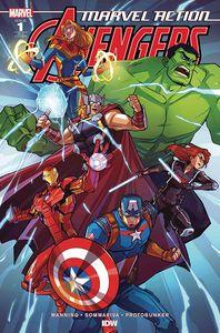 [Marvel Action: Avengers (2020) #1 (Edgar Variant) (Product Image)]