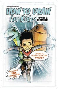 [Anomaly Productions Presents How To Draw For Kids: People & Creatures (Product Image)]
