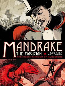 [Mandrake The Magician: The Sundays: The Hidden Kingdom Of Murderers: 1935-1937 (Hardcover - Titan Edition) (Product Image)]