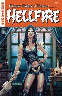 [The cover for Tales Of Terror Quarterly: Hellfire #1 (Cover A Vigonte)]