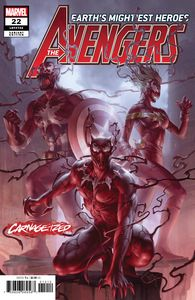 [Avengers #22 (Junggeun Yoon Carnage-Ized Variant) (Product Image)]