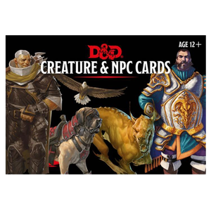 [Dungeons & Dragons: Monster Cards: NPC's & Creatures (Product Image)]