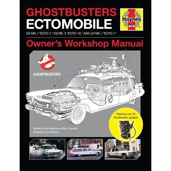 [The cover for Ghostbusters: Ectomobile Haynes Owners' Workshop Manual (Hardcover)]