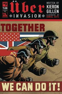 [Uber: Invasion #9 (Propaganda Poster Cover) (Product Image)]