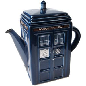 [Doctor Who: Teapots: TARDIS (Product Image)]