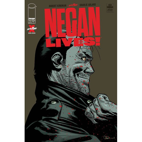 [The cover for Walking Dead: Negan Lives #1]