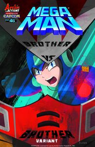 [Mega Man #46 (Brother Vs Brother Variant) (Product Image)]