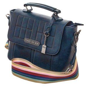 [Doctor Who: Handbag: 13th Doctor TARDIS Rainbow (Product Image)]